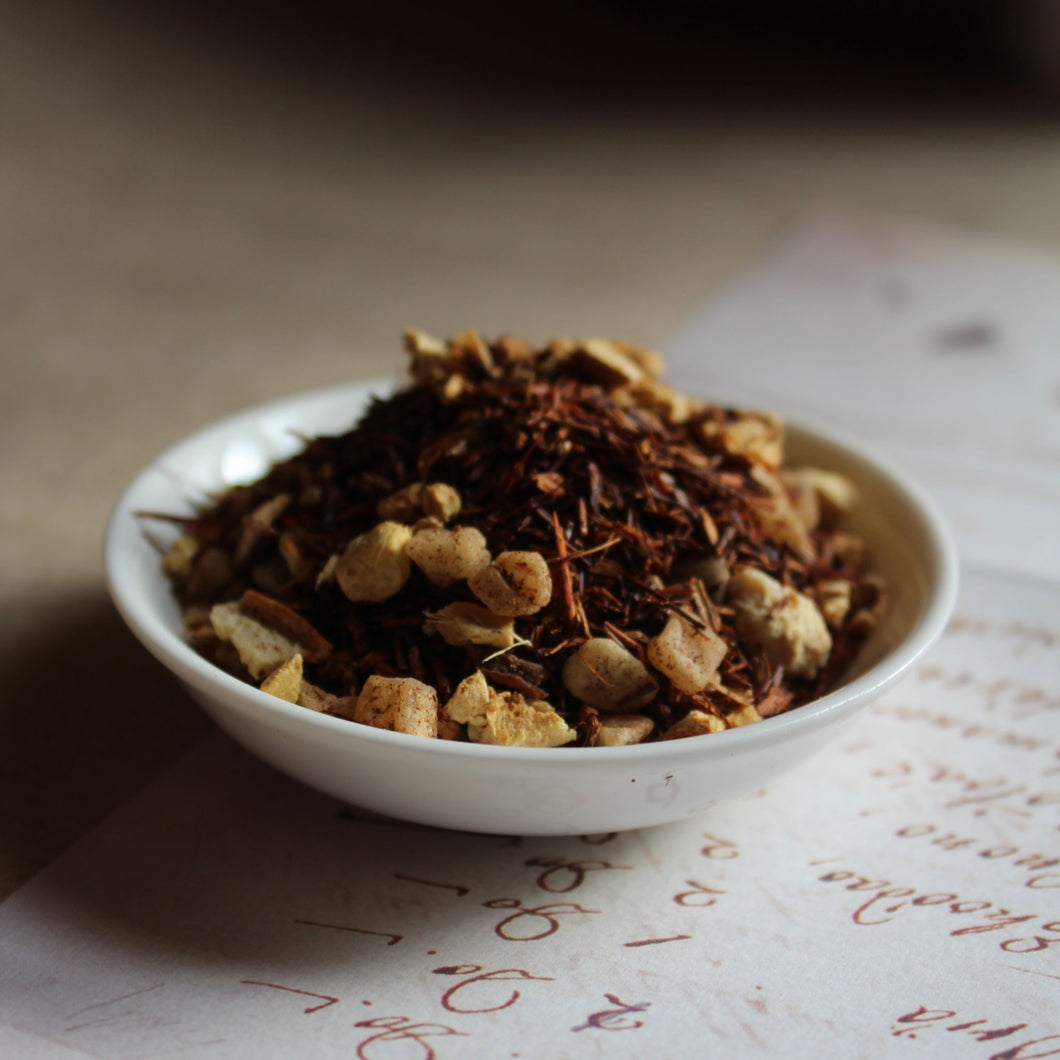 ginger lemon rooibos tea