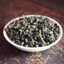 Load image into Gallery viewer, Green gunpowder loose leaf tea