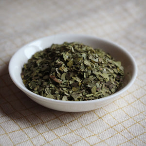 dish of brazilian green mate tea