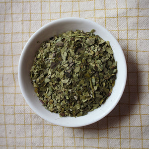 Brazilian green Mate tea