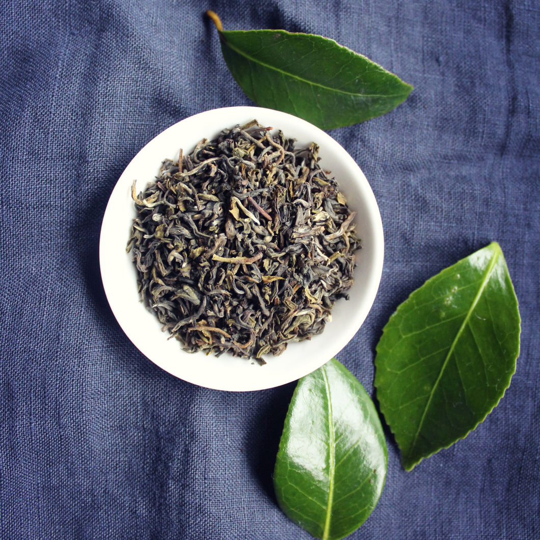 loose leaf tea Organic green tea nepal