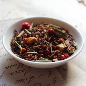 Spicy lemon flavour Rooibos loose leaf tea