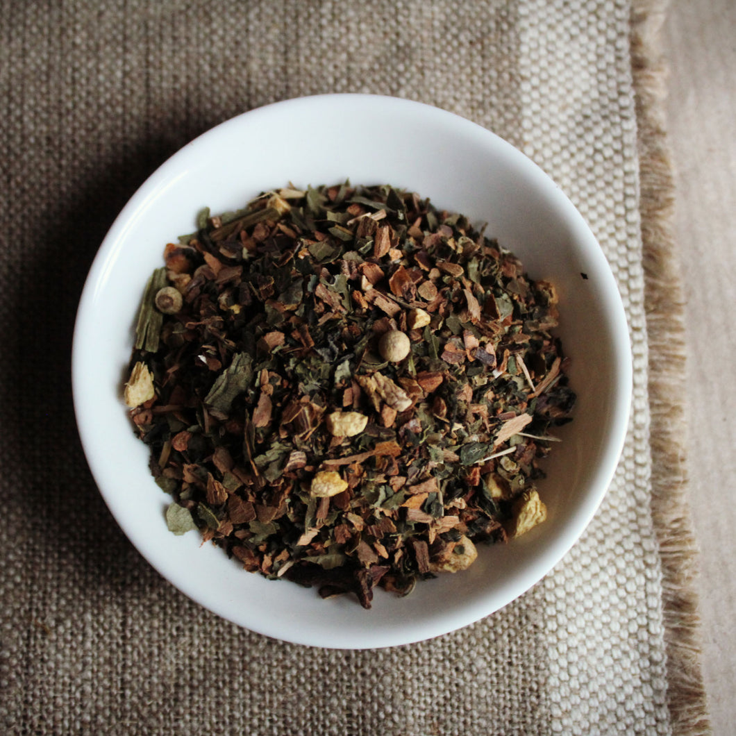 Yoga tea herbal blend