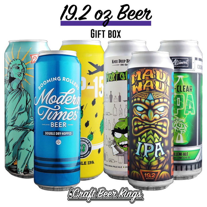 19.2 oz Beer Gift Box - Shipping Included!