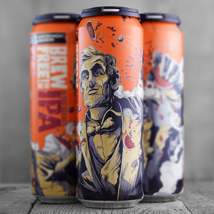 21st Amendment Brew Free or Die! IPA Blood Orange 19.2oz