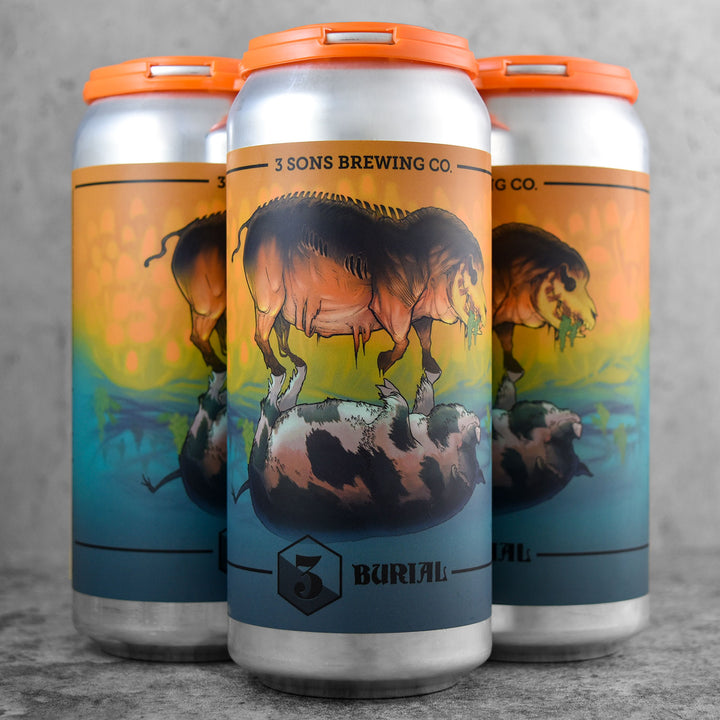 3 Sons x Burial Brewing Kindred Beings
