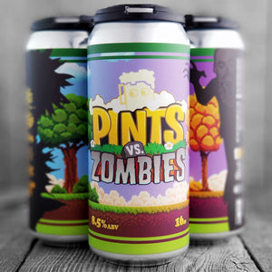 8 Bit Pints Vs Zombies