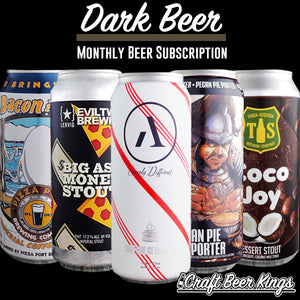 Dark Beer Subscription Box - Shipping Included!