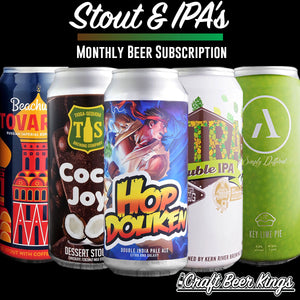 Stout and IPA Subscription Box - Shipping Included!