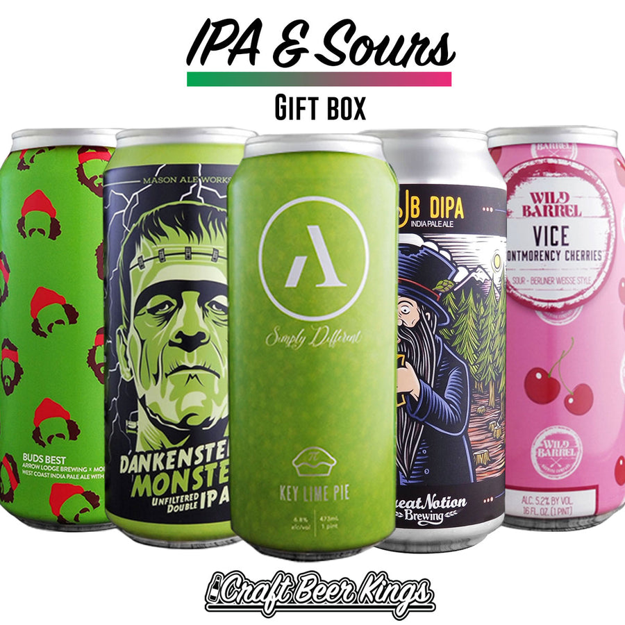 Sour and IPA Gift Box - Shipping Included!