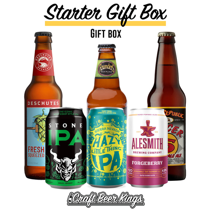 Starter Beer Box - Shipping Included!