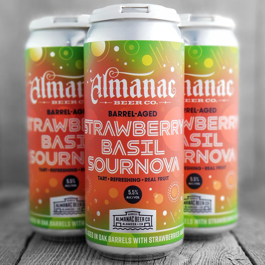 Almanac Strawberry Basil Sournova
