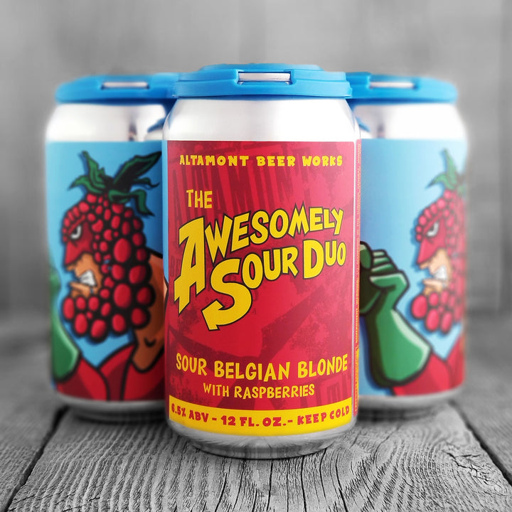 Altamont Awesomely Sour Duo With Raspberries