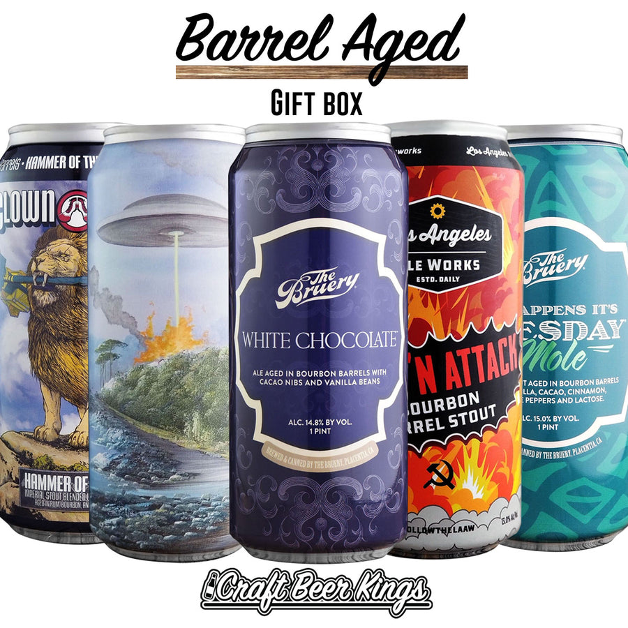 Barrel Aged Beer Gift Box - Free Shipping
