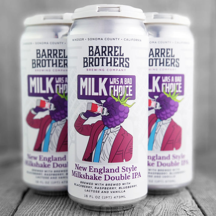Barrel Brothers Milk Was A Bad Choice With Berries