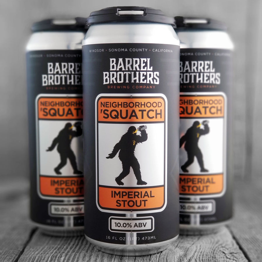 Barrel Brother Neighborhood 'Squatch