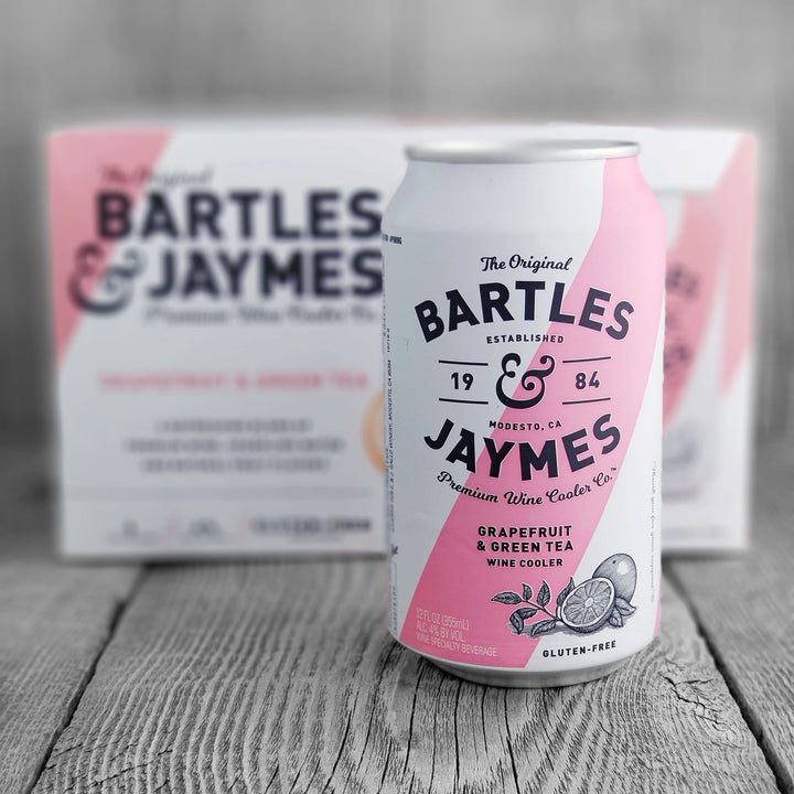 Bartles & Jaymes Grapefruit & Green Tea