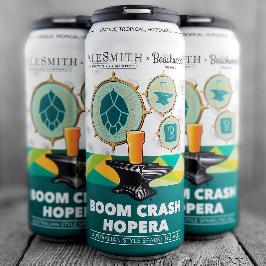 Beachwood / AleSmith - Boom Crash Hopera