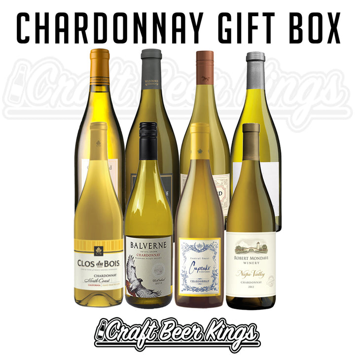 Chardonnay Wine Gift Box - Free Shipping