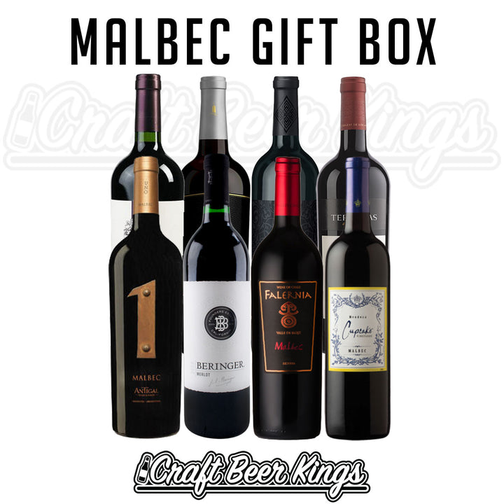 Malbec Wine Gift Box - Free Shipping