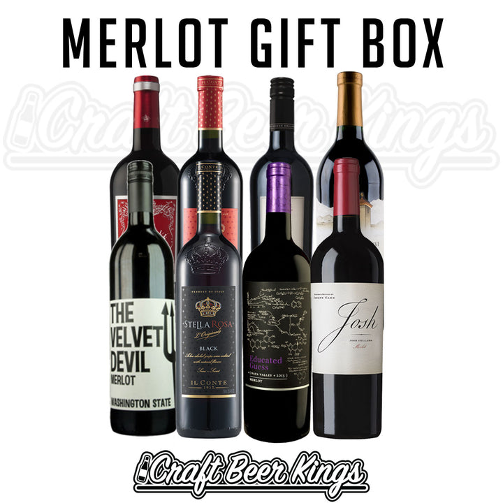 Merlot Wine Gift Box - Shipping Included!