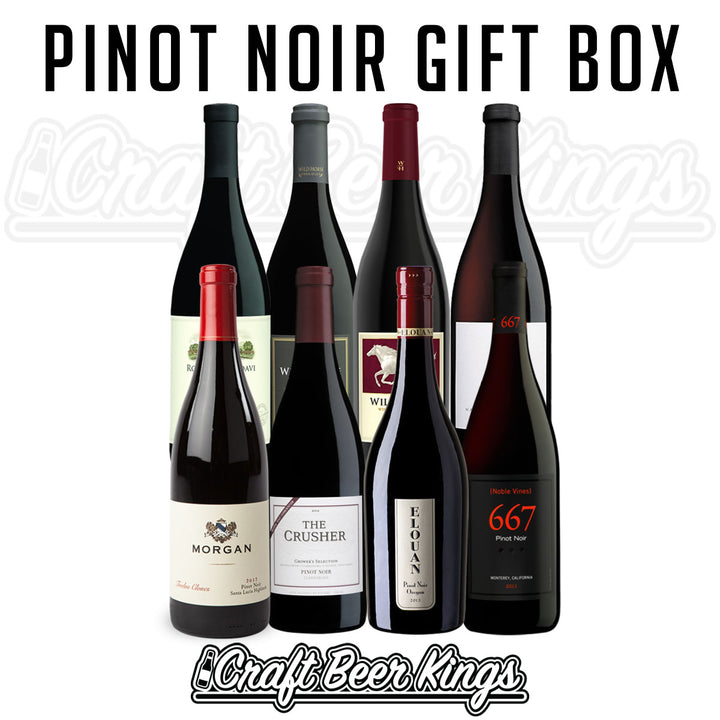 Pinot Noir Wine Gift Box - Free Shipping