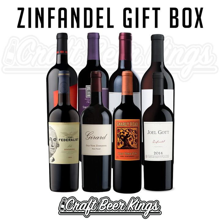 Zinfandel Wine Gift Box - Shipping Included!