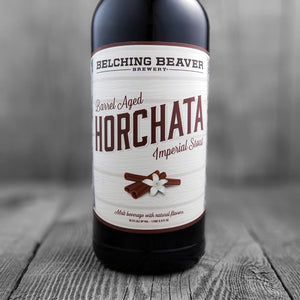 Belching Beaver Barrel Aged Horchata Imperial Stout