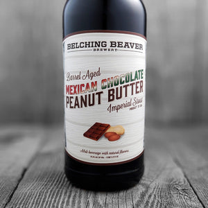 Belching Beaver Barrel Aged Mexican Chocolate Peanut Butter Imperial Stout