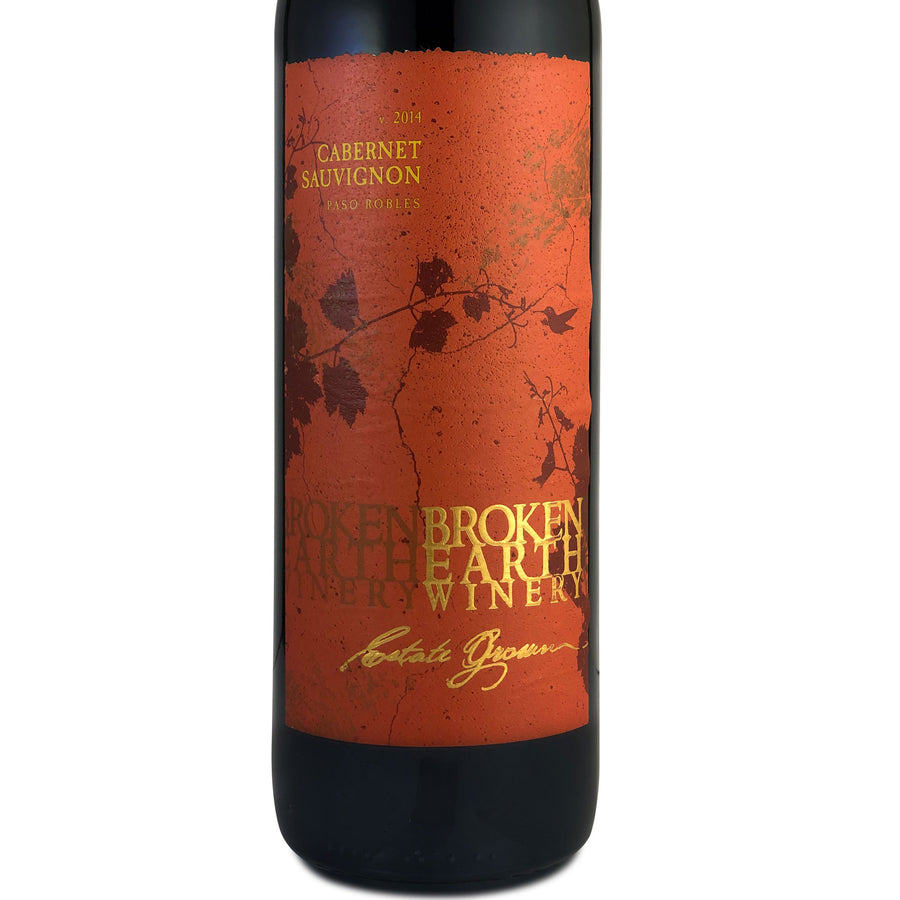 Broken Earth Winery Cabernet Sauvignon 2014