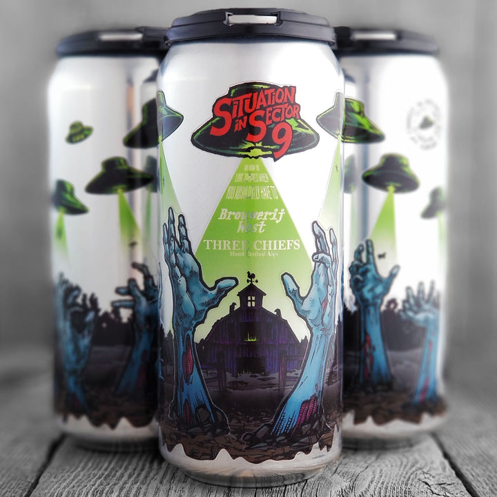 Brouwerij West / Three Chiefs - Situation In Sector 9