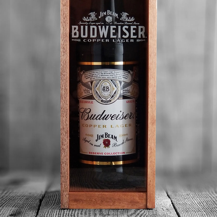Budweiser Copper Lager Aged On Jim Beam Barrels