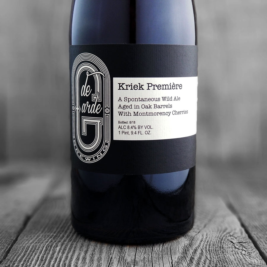 De Garge Kriek Premiere - Limit 1