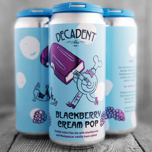 Decadent Blackberry Cream Pop