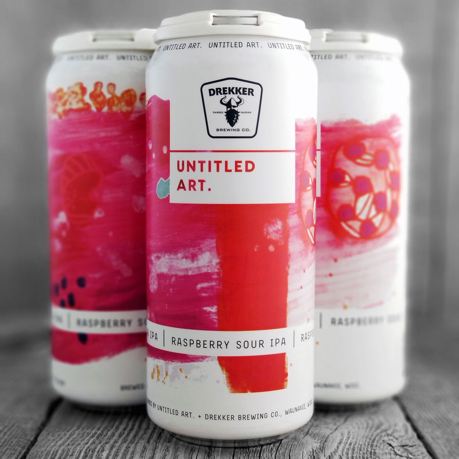 Untitled Art / Drekker Raspberry Sour IPA