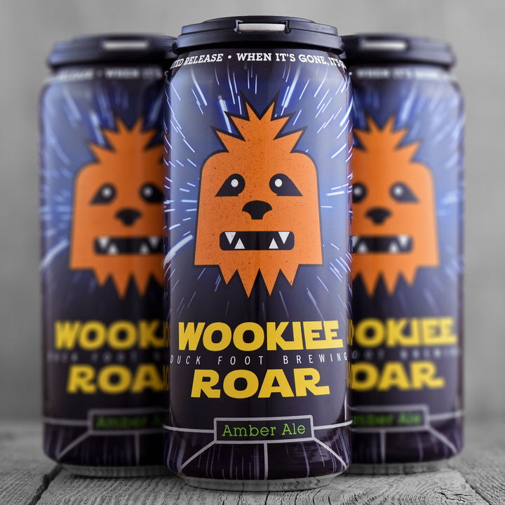 Duck Foot Wookiee Roar