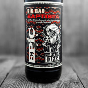 Epic Big Bad Baptista 2018