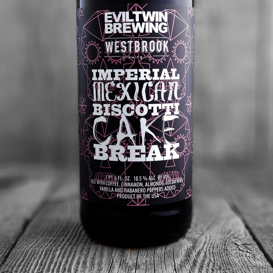 Evil Twin / Westbrook Imperial Mexican Biscotti Cake Break - Limit 1