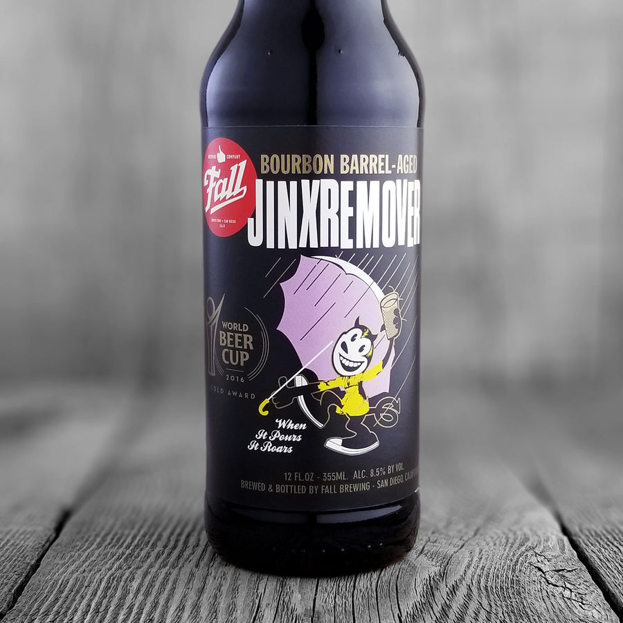 Fall Bourbon Barrel-Aged Jinx Remover