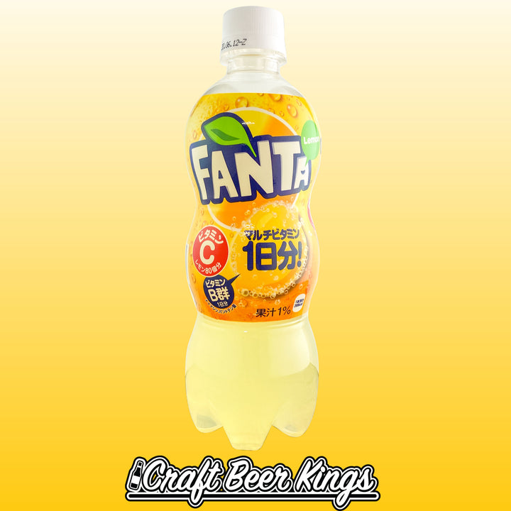 Fanta - Lemon- Japan