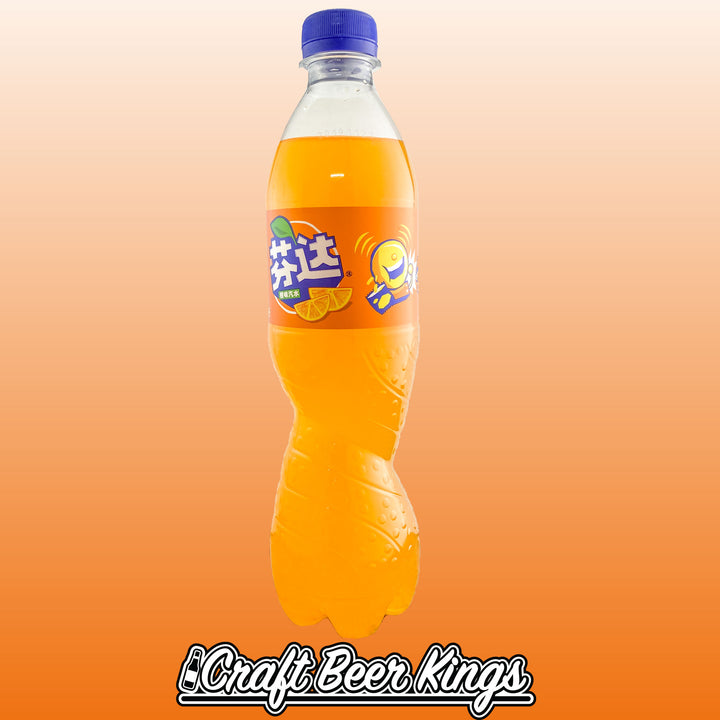 Fanta - Orange -China