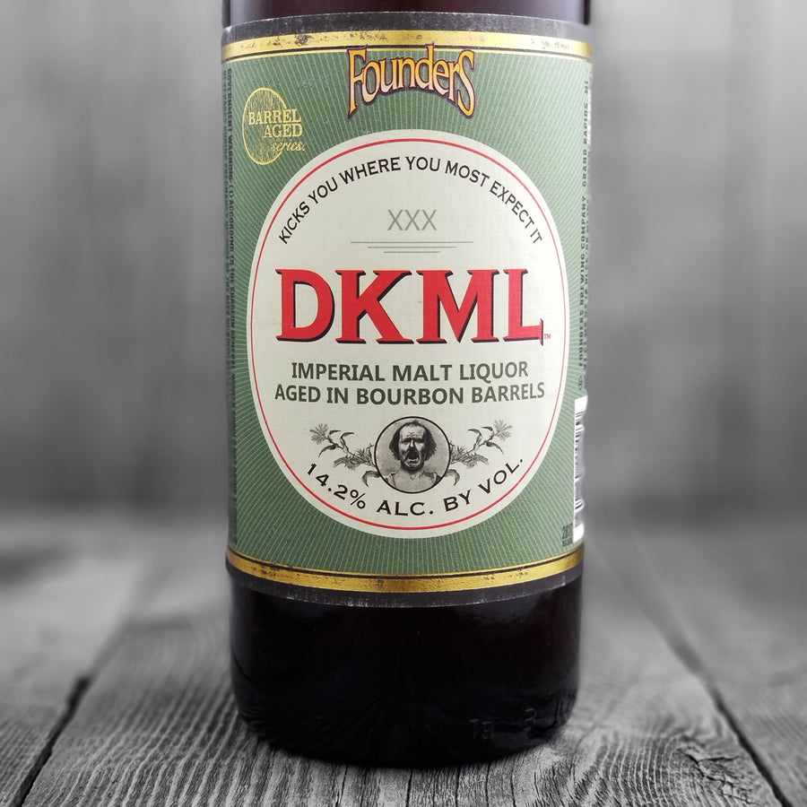 Founders DKML Barrel Aged Malt Liquor