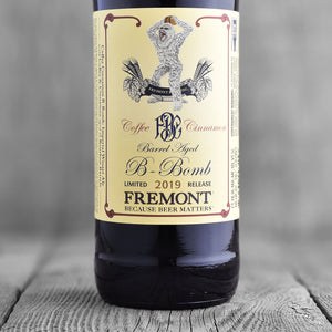 Fremont Barrel Aged B-Bomb Coffee Cinnamon - Limit 1