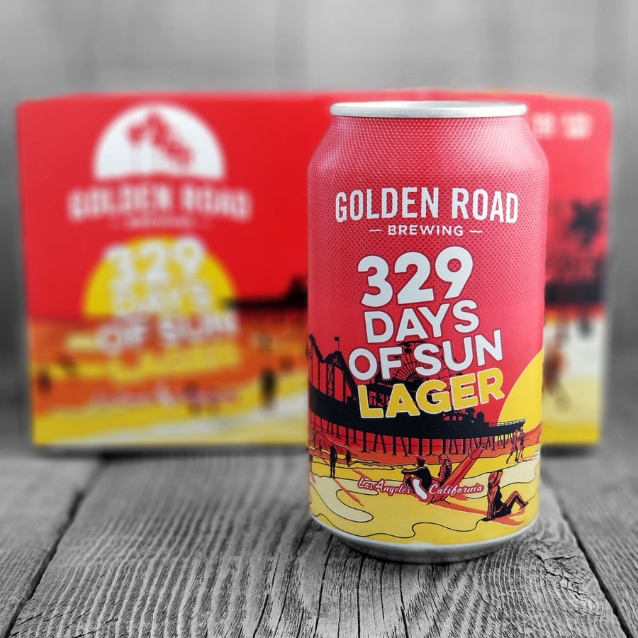Golden Road 329 Days Of Sun Lager