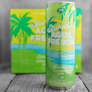 Golden Road Spiked Agua Fresca Sparkling Cucumber Lime