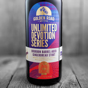 Golden Road Bourbon Barrel Aged Gingerbread Stout
