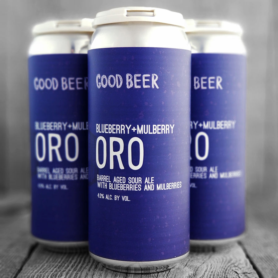 The Good Beer Blueberry + Mulberry Oro