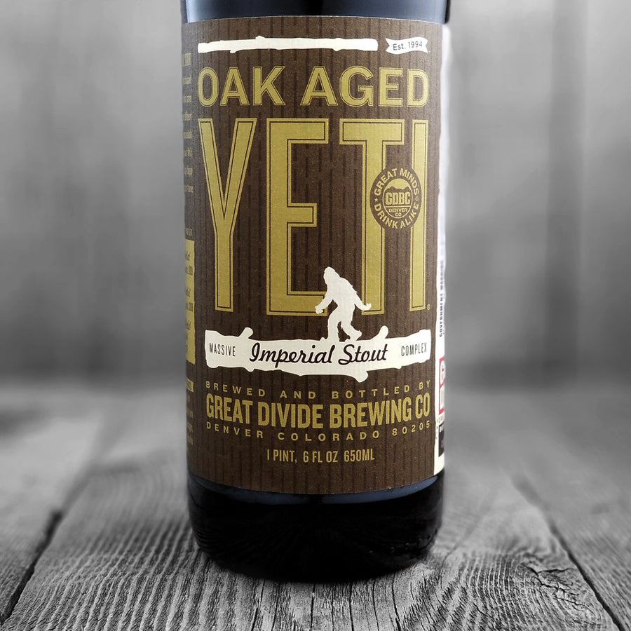 Great Divide Oak Aged Yeti