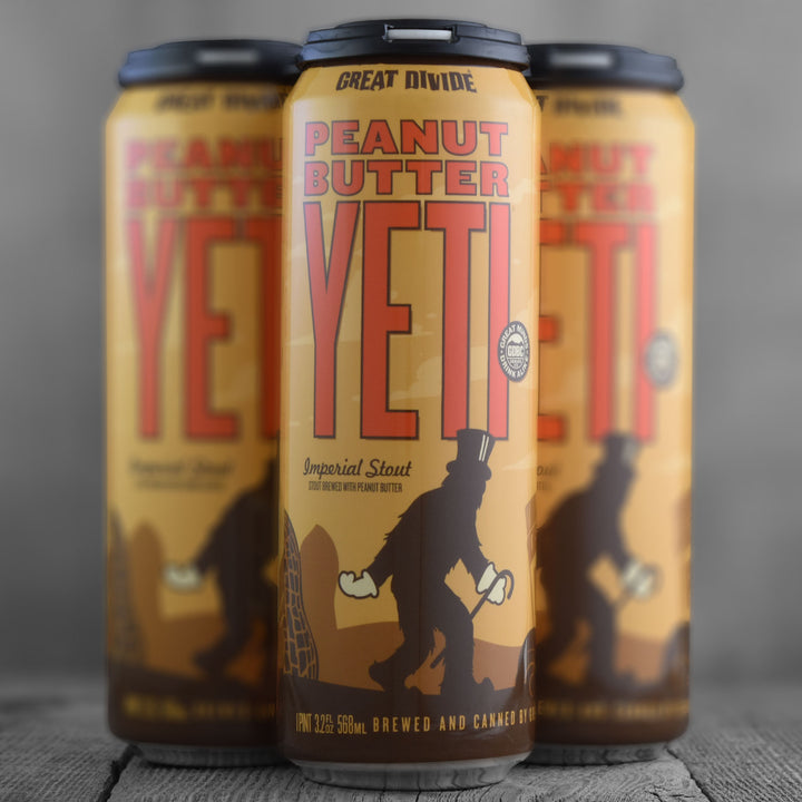 Great Divide Peanut Butter Yeti 19.2oz
