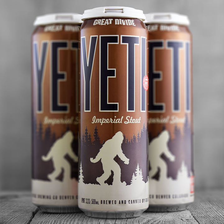 Great Divide Yeti 19.2oz Can